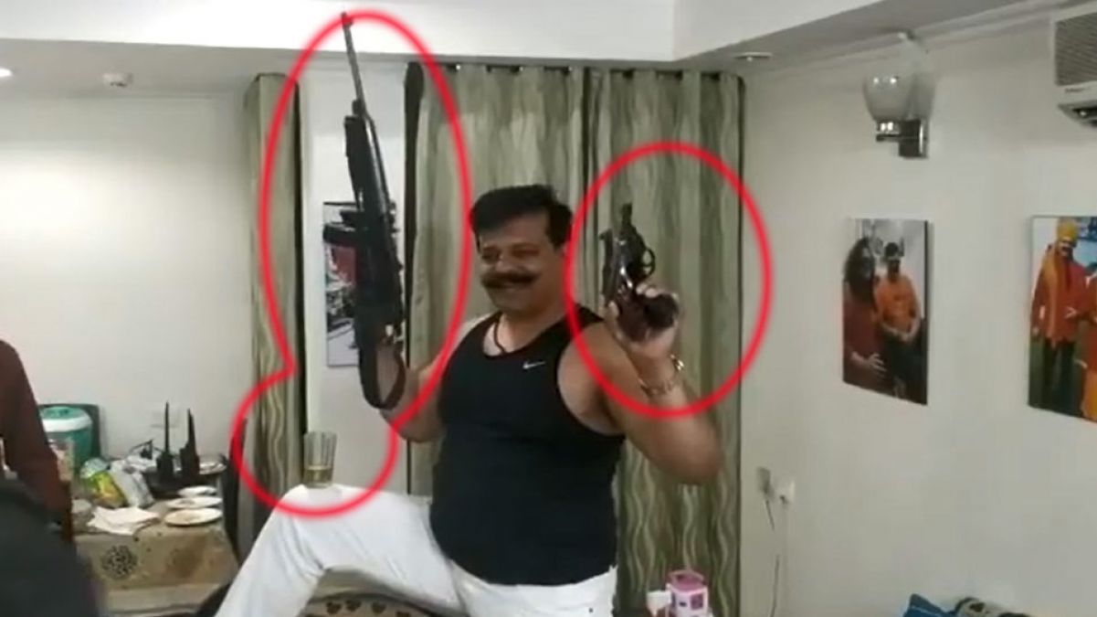 MLA Champion's  is in trouble, probe  begins for Arms Act