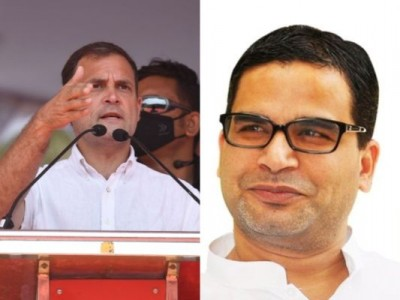 Will PK be able to save Congress from sinking? meeting with Rahul Gandhi