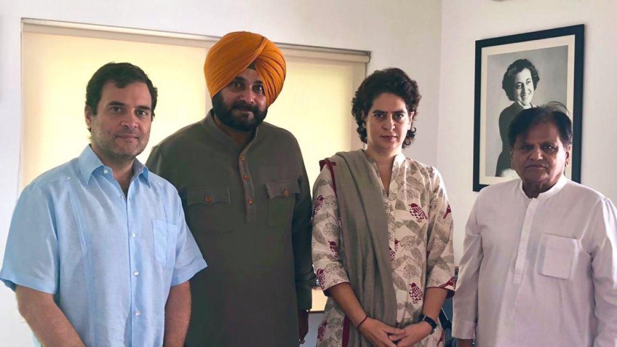 Navjot Sidhu resigns as Punjab Minister