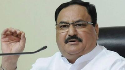 J P Nadda arrived in Jharkhand, says