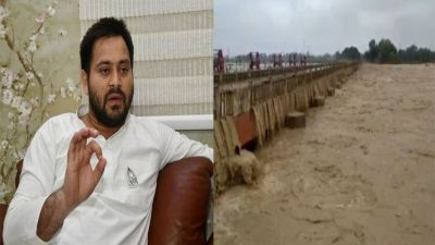 After Chamki fever in Bihar, flood wreaks havoc, Tejaswi Yadav on Silent Mode