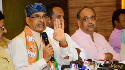 Shivraj Singh taunts on Kamal Nath, said he had to go to Karnataka, reached Delhi.