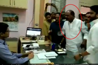 Madhya Pradesh: BJP MLA threatens SDM, video goes viral