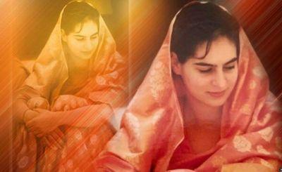 Priyanka Gandhi Follows Sari Trend, Anniversary Greetings On Twitter