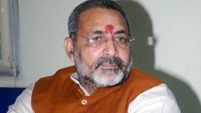 Giriraj Singh advocates breaking alliance with JD(U) again, tweeted this