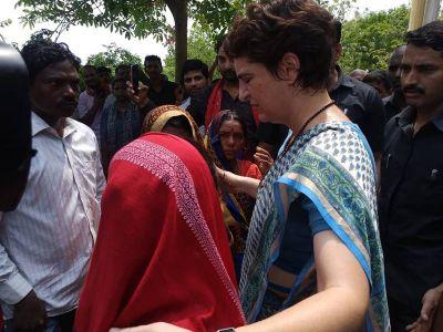 Priyanka Vadra's Sonbhadra visit: Allowed To Meet Families Of UP Shootout Victims