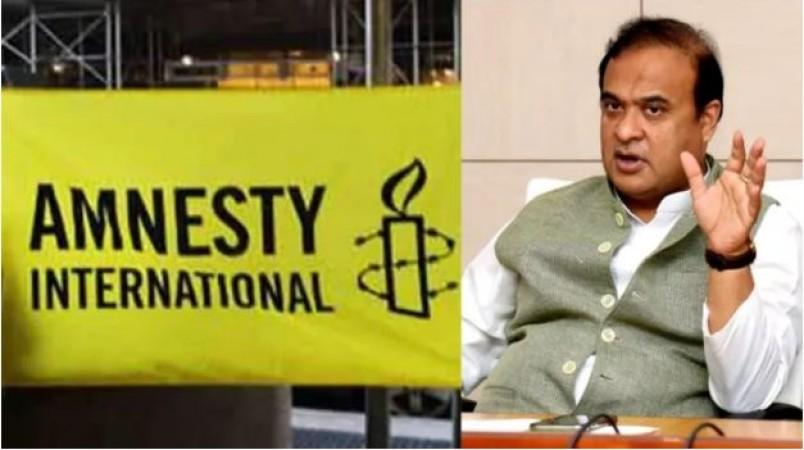 असम सीएम हिमंत सरमा ने की 'एमनेस्टी इंटरनेशनल' पर बैन लगाने की मांग, बताया बड़ा कारण
