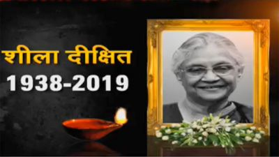 Former CM Sheila Dikshit's funeral to be held today at Congress headquarters