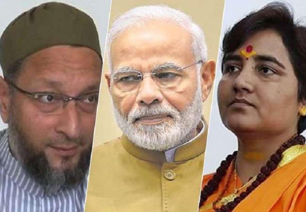 Owaisi attacks Pragnya Thakur,