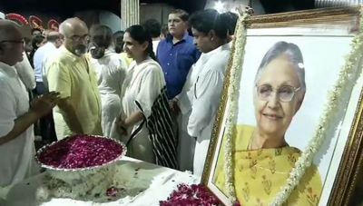 Tribute not given to Sheila Dikshit in the House, BJP slammed Congress
