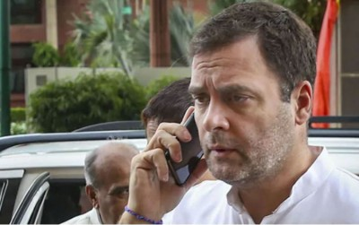 Rahul Gandhi should give phone for investigation if he thinks it is tapped: BJP on spying charges