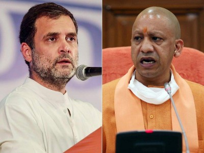 Rahul Gandhi says I don't like UP mangoes at all, Yogi's reply- Your Test is divisive too