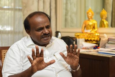 Kumaraswamy fulfilled his promise to poor labours