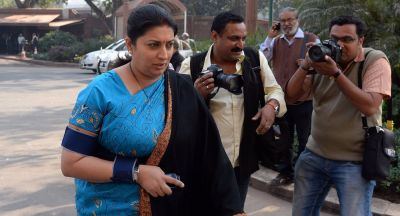 Smriti Irani slams Azam Khan, says, If such remarks were made outside the House, the police...