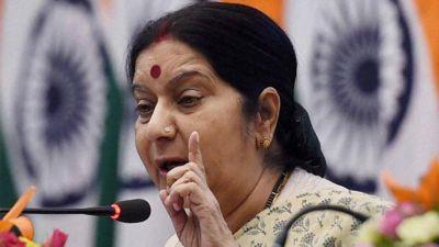 Sushma Swaraj calls mentally ill to Azam Khan