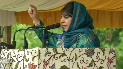 Mehbooba said this thing on  Article 35A, gave this big statement