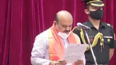 Basavaraj Bommai sworn as Karnataka's new CM with 3 Deputy CMs