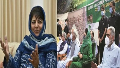'The only Muslim-majority state divided...' Mehbooba again indicted Section 370
