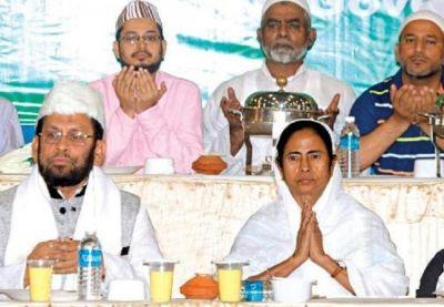 ममता की उपस्थिति में मुस्लिमों से बोले मौलाना, कोई पार्टी भला नहीं करेगी, अल्लाह पर भरोसा रखो