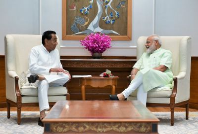 Kamal Nath meets PM Modi, discussed several issues in Madhya Pradesh