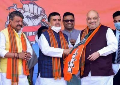 Suvendu adhikari meets Amit Shah, may also meet PM Modi