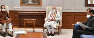 CM Uddhav Thackeray met PM Modi, had talks on Maratha reservation