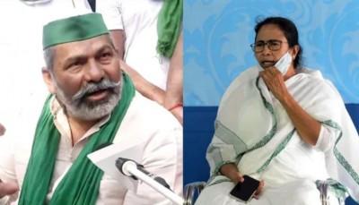 Rakesh Tikait to meet Mamata Banerjee today, Kisan movement to get momentum again