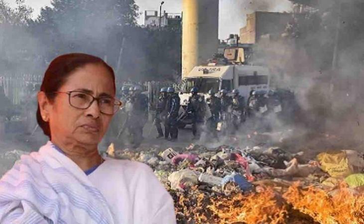 बंगाल में नहीं थम रहा हिंसा का दौर, अब कोलकाता में हुआ खून-खराबा, देखें Video