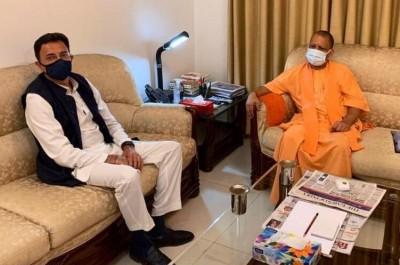 Jitin Prasad and AK Sharma may get place in Yogi cabinet