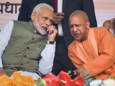 Yogi's meeting with PM Modi continues, discussion made over UP assembly elections