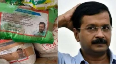 Viral video Central government ration for poors found rotting inside Delhi school