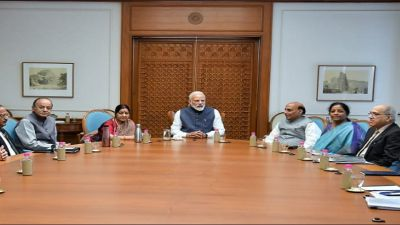 Modi government's first meeting to be held today after government formation