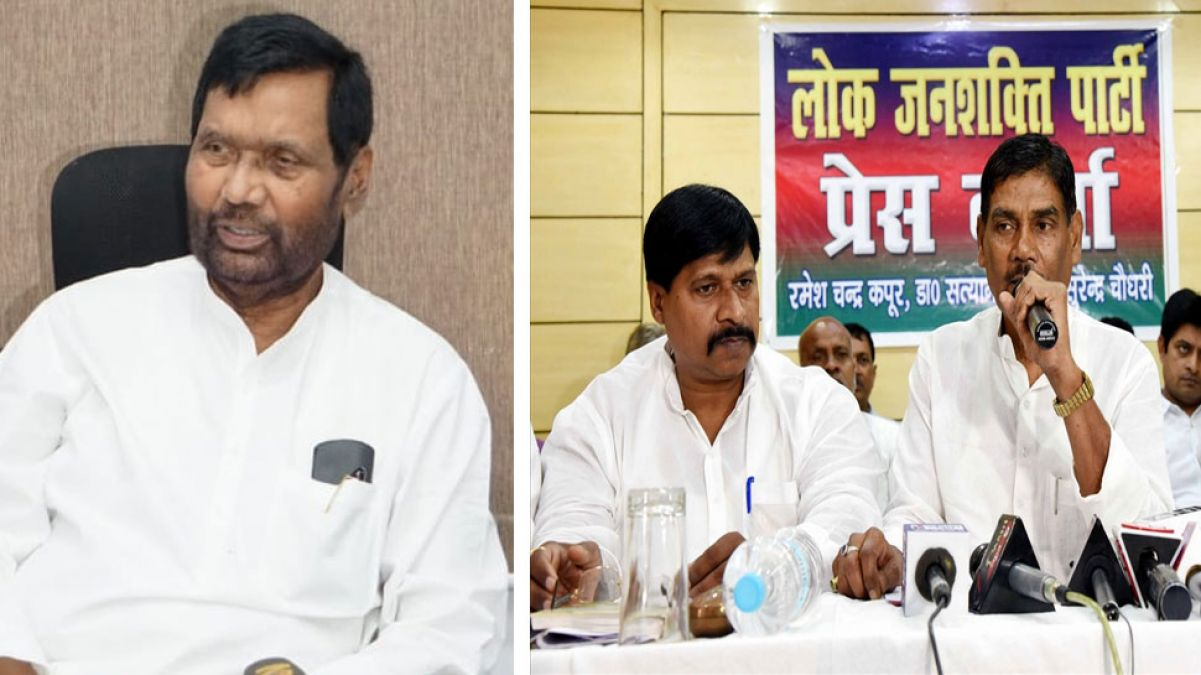 Ram Vilas Paswan breaks silence on foot in Lojpa, made big statement