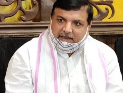 Anonymous people attacked on AAP MP Sanjay Singh's residence, said this trough Tweet