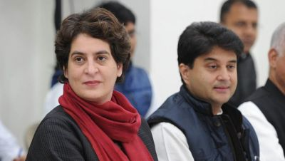 Senior Congress leader absent in Scindia meeting, Priyanka may get a bigger responsibility