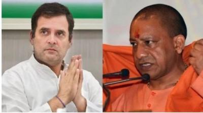 CM Yogi slammed Rahul Gandhi said, 'He never speaks truth..'