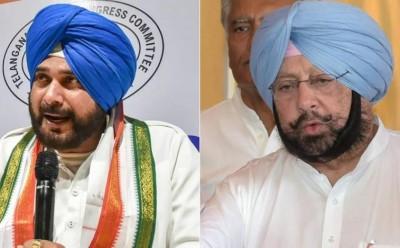 Veteran Congress leaders including Amarinder-Navjot summoned to Delhi by Sonia Gandhi