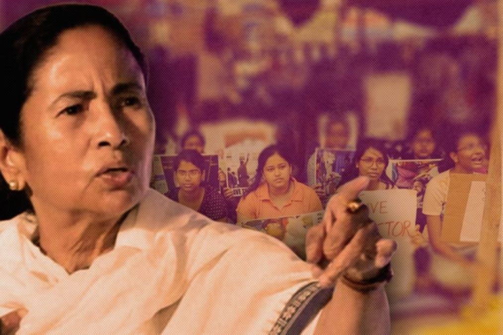 AIIMS Doctors come in support of the strike, says  women  CM love her Ego more
