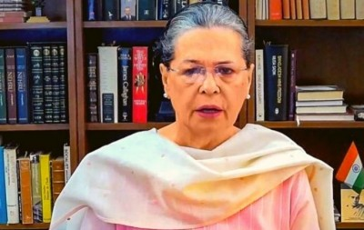Sonia took both doses of corona vaccine , Congress responds to BJP