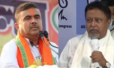 Suvendu Adhikari seeks disqualification of Mukul Roy as Krishnanagar MLA