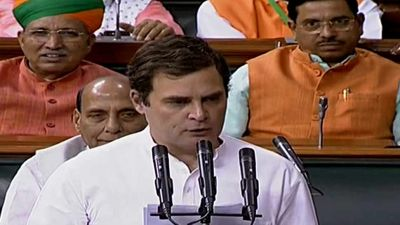 Rahul Gandhi forgot to sign after being sworn in parliament, other MPs reminded him