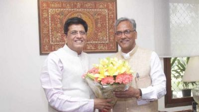Railway Minister Piyush Goyal meets Uttarakhand CM, appeals to introduce facilities in these special trains
