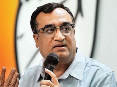Ajay Maken seeks to downplay infighting talks in Rajasthan Congress