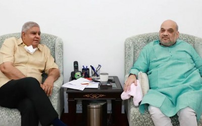 Governor Dhankhar to meet Amit Shah today to discuss on Bengal violence