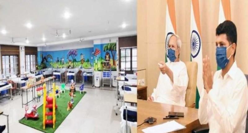 मुख्यमंत्री नवीन पटनायक ने किया 200 बेड वाले कोविड अस्पताल का उद्घाटन, मिलेगी ये सुविधाएं