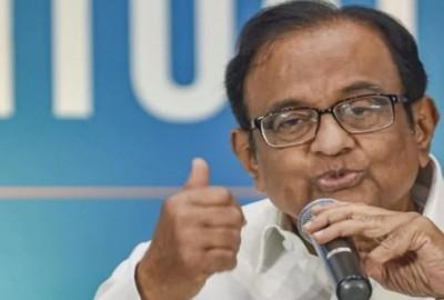 Congress leader P Chidambaram slams modi govt over corona vaccination