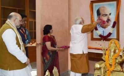 BJP's 'patriarch' Shyama Prasad Mukherjee's death anniversary today, PM Modi pays tributes