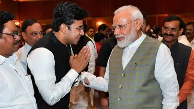 PM Modi's changed country's statehood, youth get a chance to come into the House - Tejaswi Surya