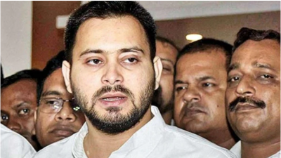 Tejaswi Yadav, who emerged after the embarrassing defeat in the election, was not seen for long!