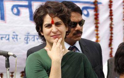 Priyanka Gandhi attacks Yogi government over rising crime, UP police responds